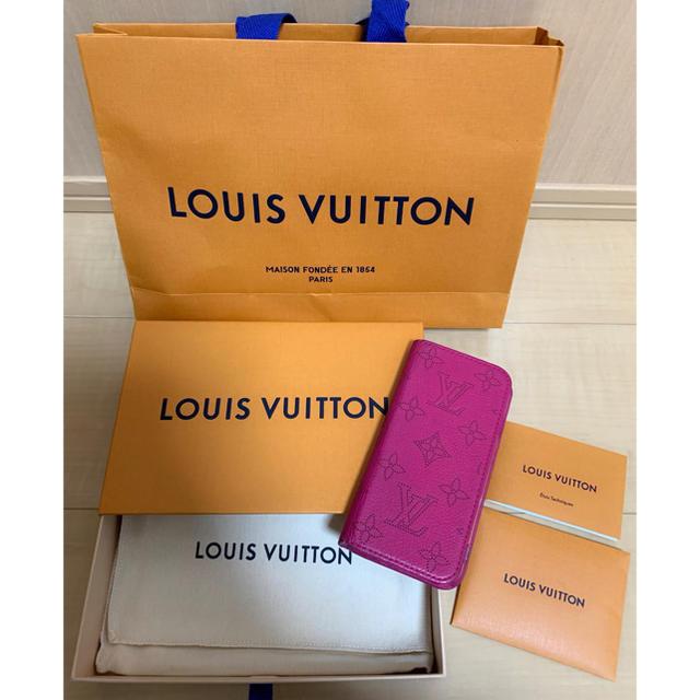 Miu Miu iPhone7 ケース  ブランド | LOUIS VUITTON - LOUIS VUITTON・ルイヴィトン・マヒナ・iPhone7.8携帯ケースの通販 by ぉ嬢's shop|ルイヴィトンならラクマ