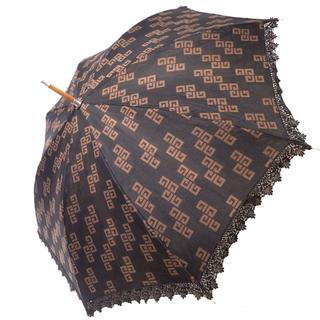 ジバンシィ(GIVENCHY)のA763 中古 GIVENCHY ジバンシィ 日傘 UVカット レディース(傘)