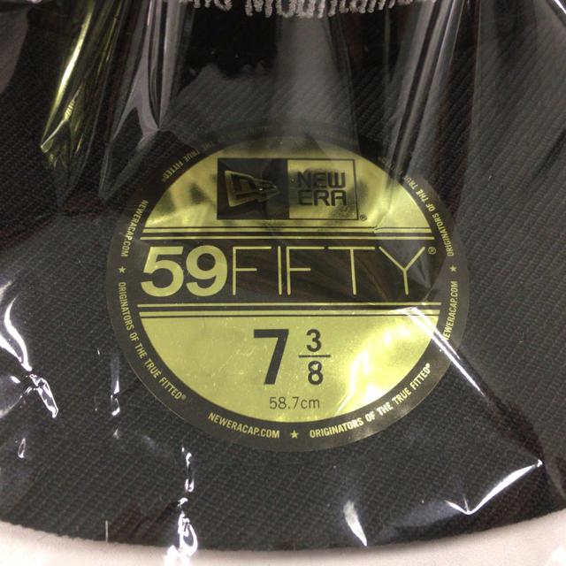 MOUNTAIN RESEARCH(マウンテンリサーチ)のマウンテンリサーチ ニューエラ キャップ 7 3/8 新品 メンズの帽子(キャップ)の商品写真