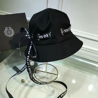クロムハーツ(Chrome Hearts)のクロムハーツ 帽子 ブラック 綺麗 可愛い(キャップ)