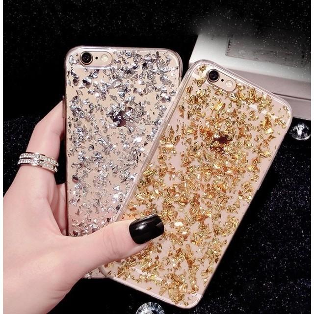 キラキララメ ゴールド iPhone7/8 ca2831の通販 by PONYshop|ラクマ