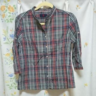 サブロク(SABUROKU)の新品 七分袖チェックシャツ(シャツ/ブラウス(長袖/七分))