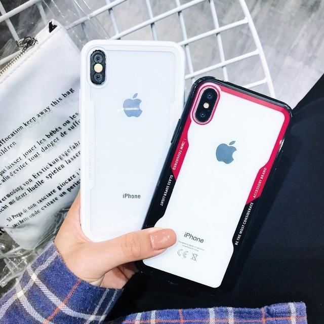 クリアスマホ ケース  iPhone ca140154の通販 by PONYshop|ラクマ