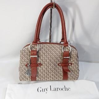 ギラロッシュ(Guy Laroche)の美品未使用新品本物本革ギ・ラロッシュボストンハンドバッグショルダ-レディース(ショルダーバッグ)