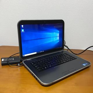 デル(DELL)の高速起動SSD i5  Dell inspiron15R 5520 Win10(ノートPC)