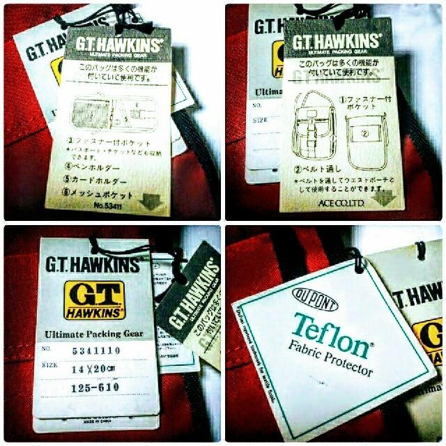 G.T. HAWKINS(ジーティーホーキンス)のホーキンス 多機能ネックポーチ メンズのバッグ(その他)の商品写真