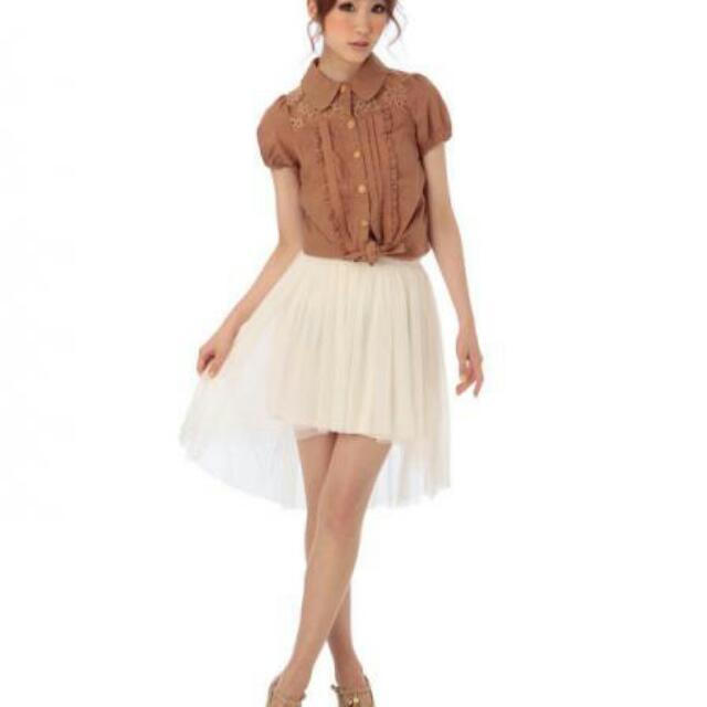 LIZ LISA(リズリサ)のリズリサ*フィッシュテールSK レディースのスカート(ひざ丈スカート)の商品写真