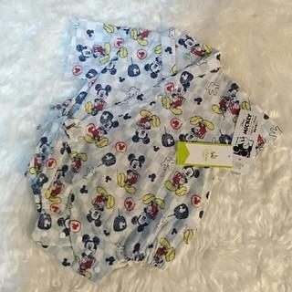 ディズニー(Disney)の新品・未使用品★ ミッキー ★ 甚平 ★サイズ60~70(甚平/浴衣)