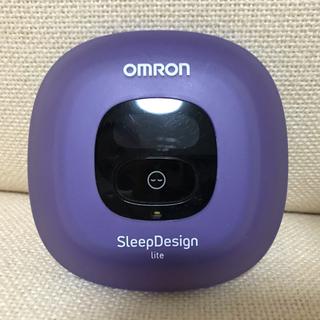 オムロン(OMRON)の【大幅値下しました】OMRON/ねむり時間計/紫(青に近い)/送料込み(その他)