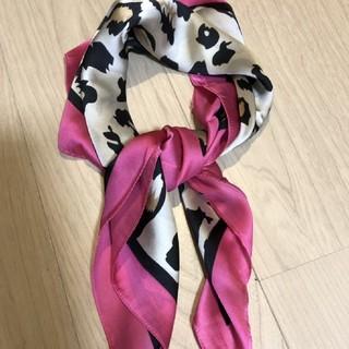 リリーブラウン(Lily Brown)の新品レオパードスカーフ【高品質】(バンダナ/スカーフ)