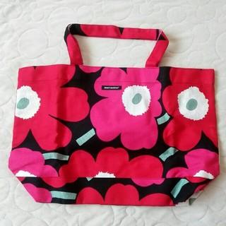 878b4194a849 マリメッコ(marimekko)のmarimekko Unikko Bag 未使用品 トートバッグ(トートバッグ