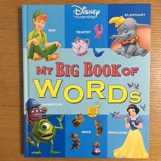 ディズニー(Disney)の2019 MY BIG BOOK OF WORDS  ディズニー英語 DWE(洋書)