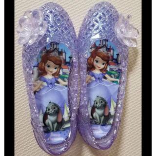 ディズニー(Disney)のプリンセス ソフィア ガラスの靴風サンダル(サンダル)