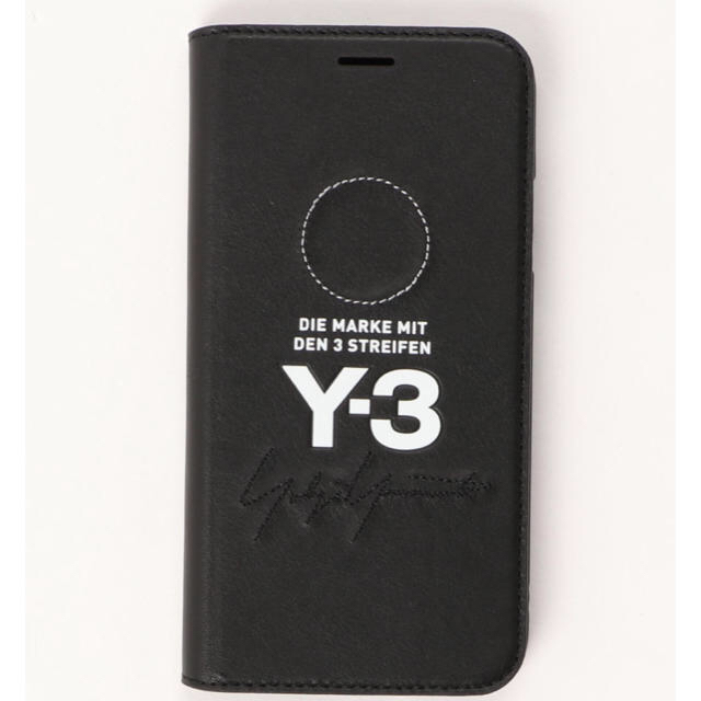 Y-3 - Y-3 BOOKLET LEATHER IPHONE Xの通販 by てぃー|ワイスリーならラクマ