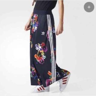 アディダス(adidas)のユコナ様専用 アディダス フラワー ジャージー スカート(ロングスカート)