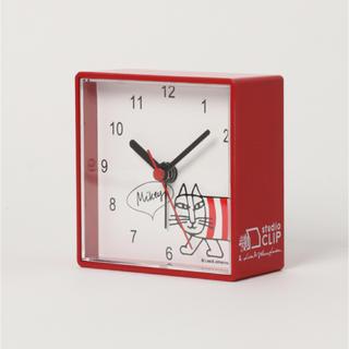 big sale bf56c 915dc リサラーソン スタジオクリップ コラボ 時計 マイキー 目覚まし時計