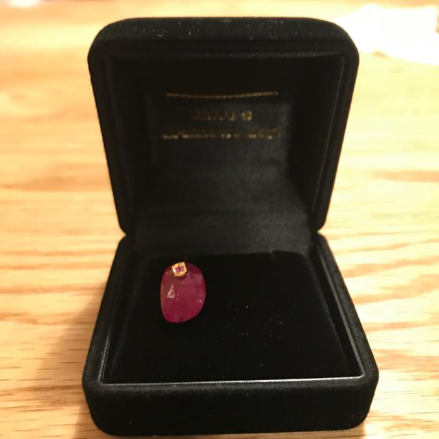 H.P.FRANCE(アッシュペーフランス)のマリー様専用monaka jewelry モナカジュエリー天然石×ルビー ピアス レディースのアクセサリー(ピアス)の商品写真