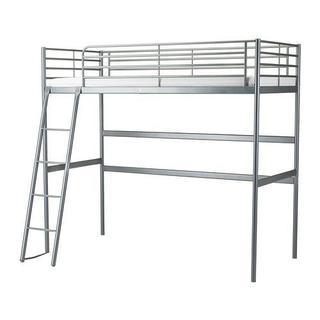 イケア(IKEA)の配送出来ます 使用期間半年 IKEA ロフトベッド(ロフトベッド/システムベッド)