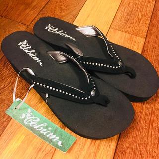 アイランドスリッパ(ISLAND SLIPPER)の新品タグ付♡Island slipper♡ヒールビーチサンダル♡(ビーチサンダル)
