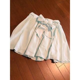 マーキュリーデュオ(MERCURYDUO)のフリージア フレアスカート ♡ ミント(ミニスカート)
