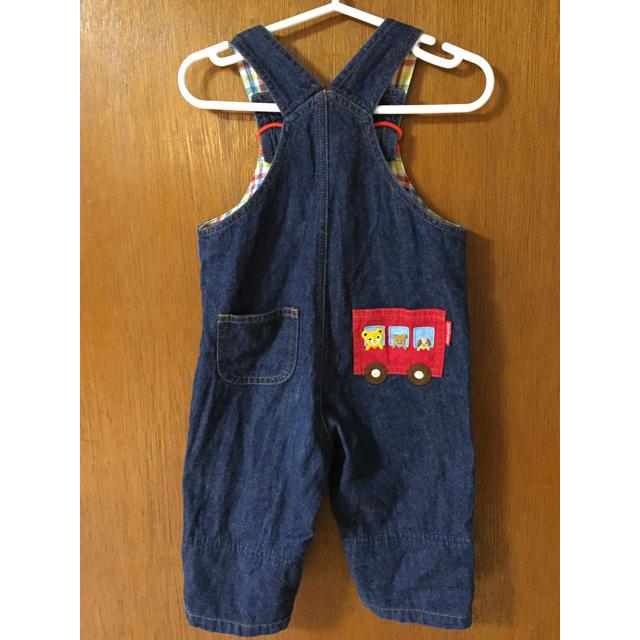 086aa604dd80c mikihouse(ミキハウス)のミキハウス オーバーオール 80サイズ キッズ ベビー マタニティのベビー服