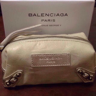 バレンシアガ(Balenciaga)のバレンシアガ ポーチ ノベルティ 新品箱付き(ポーチ)