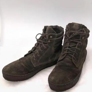 モンクレール(MONCLER)のMONCLER モンクレール メンズブーツ カーキ(ブーツ)