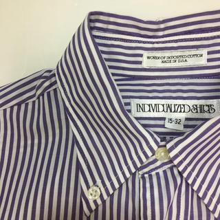 インディヴィジュアライズドシャツ(INDIVIDUALIZED SHIRTS)のサイズ15 定価25,920円 INDIVIDUALIZED SHIRTS(シャツ)