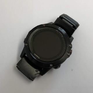 ガーミン(GARMIN)のGARMIN fenix 5X Sapphire 日本版 純正ステンレスバンド付(腕時計(デジタル))