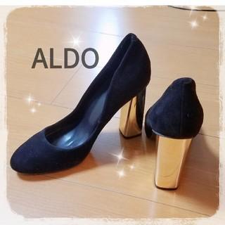 アルド(ALDO)のALDO ハイヒール Lサイズ ゴールドヒール(ハイヒール/パンプス)