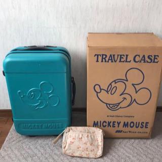 ミッキーマウス(ミッキーマウス)の【入手困難!】ミッキーマウスのキャリーケース(スーツケース/キャリーバッグ)