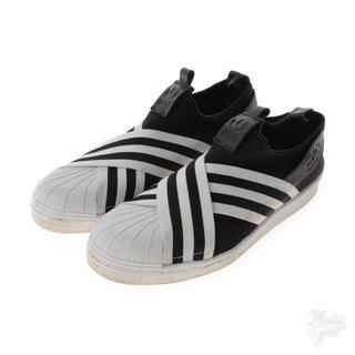 アディダス(adidas)のアディダス 中古 スリッポン 26.0(スリッポン/モカシン)