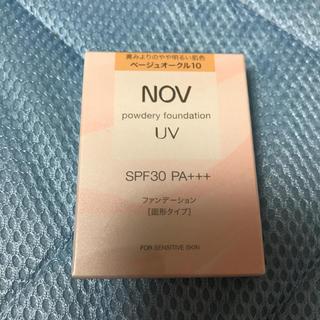 ノブ(NOV)のノブ  NOV パウダリーファンデーション UV ベージュオークル10(ファンデーション)