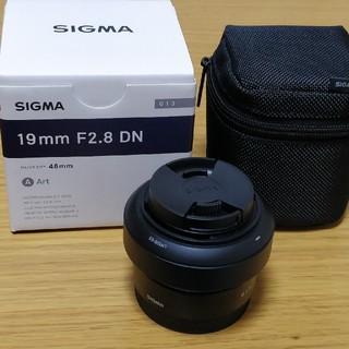 シグマ(SIGMA)の美品★SIGMA 単焦点レンズ ソニー Eマウント 19mm F2.8 DN(レンズ(単焦点))