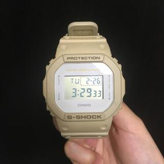 ジーショック(G-SHOCK)のG-SHOCK ミリタリーカラー サンドベージュ(腕時計(デジタル))