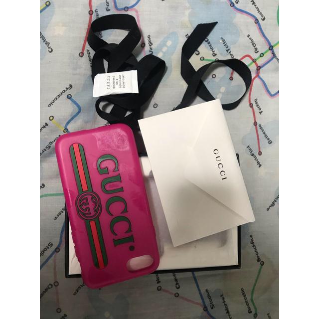 iphone xr ケース spigen / Gucci - GUCCI確実正規品iPhone 7.8  ピンクシリコンケースの通販 by きょ's shop|グッチならラクマ