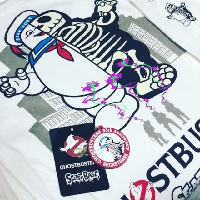 SECRETBASE(シークレットベース)のSECRET BASE × GHOST BUSTERS コラボ正規 ロンT 長袖 メンズのトップス(Tシャツ/カットソー(七分/長袖))の商品写真