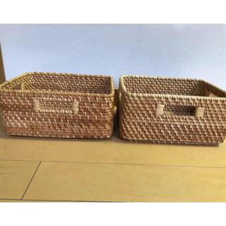 ニトリ - 収納  カゴ  ニトリ  二個セット