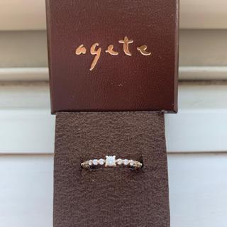 アガット(agete)のアガットリング(リング(指輪))