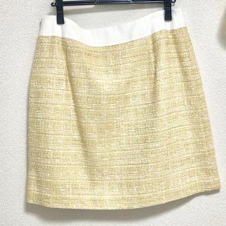 エフデ(ef-de)の【新品】ツイードスカート♡17号(ミニスカート)