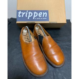 トリッペン(trippen)の3/23までの大特価 trippen トリッペン yen 革靴(ローファー/革靴)