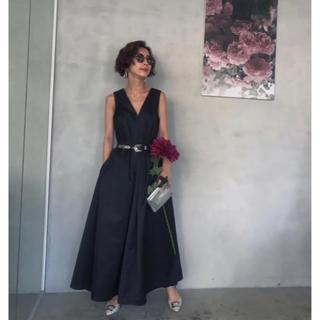 アメリヴィンテージ(Ameri VINTAGE)のameri lady tuck flare dress(ロングドレス)