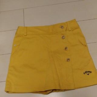 キャロウェイ(Callaway)のゴルフ用スカート「パンツ」(ミニスカート)