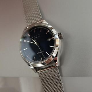 ノット(KNOT)のknot 機械式腕時計 AT-38 ミラネーゼバンド付き(腕時計(アナログ))
