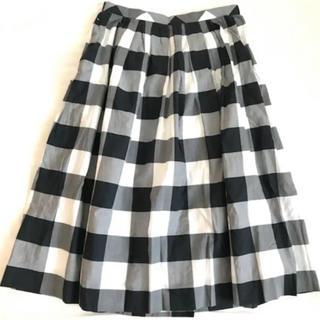 デミルクスビームス(Demi-Luxe BEAMS)のデミルクスビームス ギンガムチェッスカート(ひざ丈スカート)
