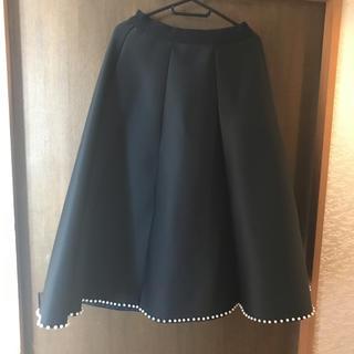 フォクシー(FOXEY)のボンディングロングスカート♡(ロングスカート)