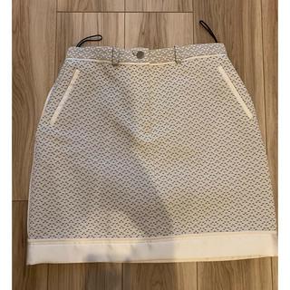 キャロウェイ(Callaway)のカルヴェン ツイードスカート36サイズ(ミニスカート)