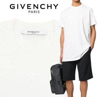ジバンシィ(GIVENCHY)の【1】GIVENCHYオーバーサイズ スターアイコン 半袖 ホワイト Tシャツ(Tシャツ/カットソー(半袖/袖なし))