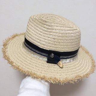 【新品】スリーフォータイム 麦わら帽子 ハット