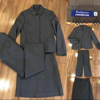 バーバリーブルーレーベル(BURBERRY BLUE LABEL)のBURBERRY バーバリーブルーレーベル スーツ 3点セット グレー(スーツ)